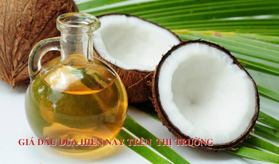 Giá dầu dừa hiện nay