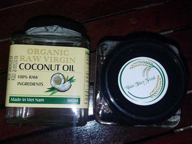 2 hũ dầu dừa 500ml